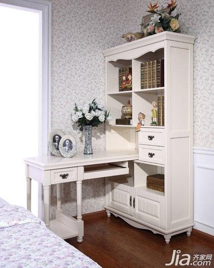 推荐五,伊甸家园书房系列 hs205 韩式书桌 商品名称:全实木欧式转角图片