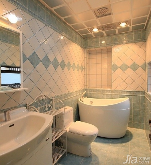 家庭裝修 衛生間瓷磚色彩搭配