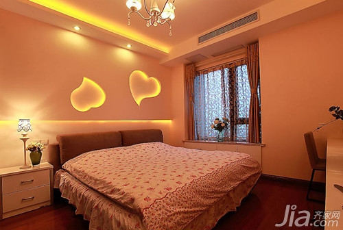 卧室设计方法 卧室飘窗窗帘设计
