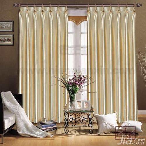 罗马杆窗帘效果图 罗马杆窗帘安装方法