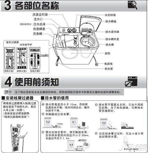 海尔滚筒安装步骤图