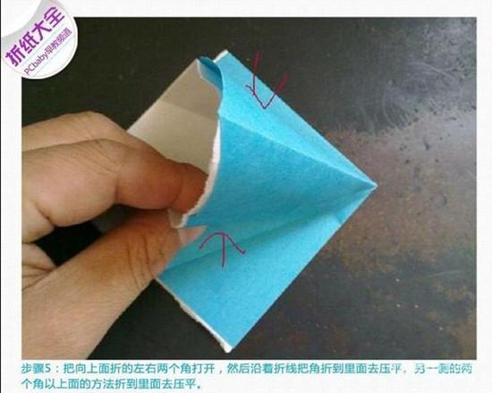 康乃馨的折法图解 手工康乃馨步骤图
