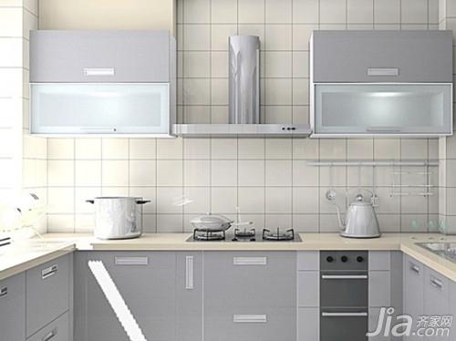厨房瓷砖颜色搭配效果图欣赏